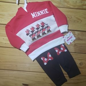 Minnie Mouse Outfit (sz 12mo)